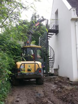 Escalier helicoidale oise