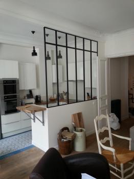 Verriere de séparation cuisine paris